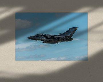 Take-off van een hele fraaie Panavia Tornado ECR (46+28) van de Duitse  Luchtmacht tijdens de NAVO T van Jaap van den Berg