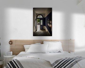 Der Blick aus dem Treppenhaus von Norbert Sülzner
