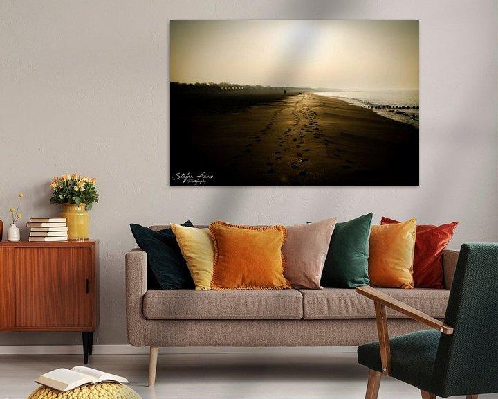 Sfeerimpressie: Voetstappen in het zand van Stefan Faas