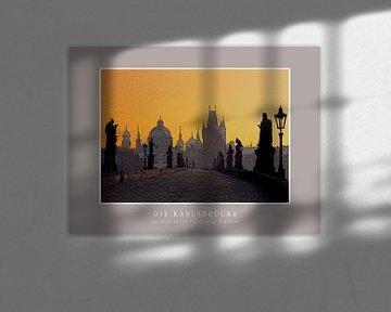 Die Karlsbrücke in Prag   |   Poster von Dirk H. Wendt