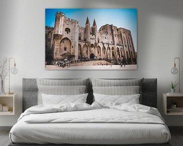 Palais des Papes in Avignon, Frankreich von Daphne Groeneveld