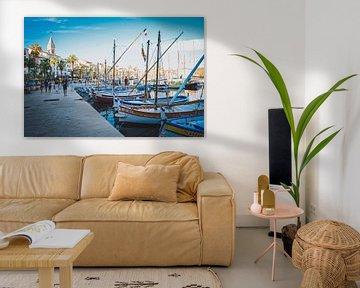 Sommer im Hafen (Provence, Frankreich) von Daphne Groeneveld