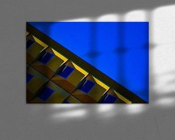 Diagonale Architekturansicht, in Utrecht von Anne Ponsen
