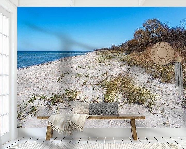 Beispiel fototapete: Strand an der Küste der Ostsee auf der Insel Poel von Rico Ködder
