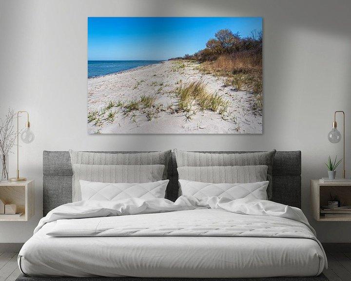 Beispiel: Strand an der Küste der Ostsee auf der Insel Poel von Rico Ködder