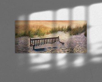 Zonsopkomst op Vlieland van Henk Meijer Photography