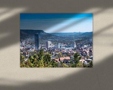 Blick über Jena in Thüringen von Animaflora PicsStock