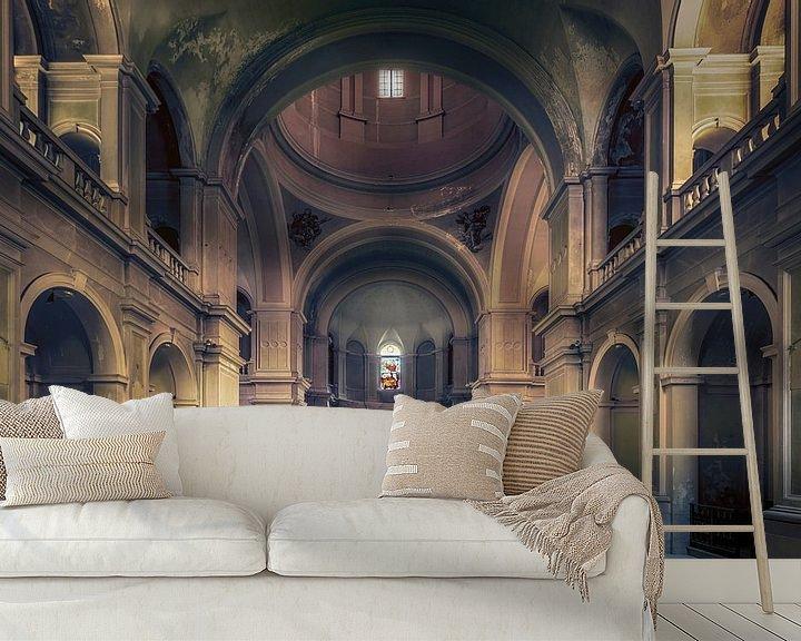 Beispiel fototapete: Verlassene und baufällige Kapelle von Frans Nijland