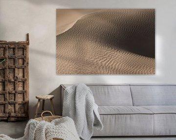 L'art du sable | Dune de sable dans le désert | Iran