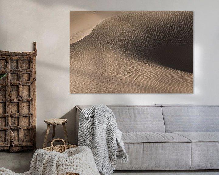 Sfeerimpressie: De kunst van zand | zandduin in de woestijn | Iran van Photolovers reisfotografie