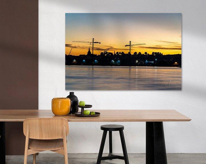 Sfeerimpressie: De avond zon over Svenborg van Tina Linssen