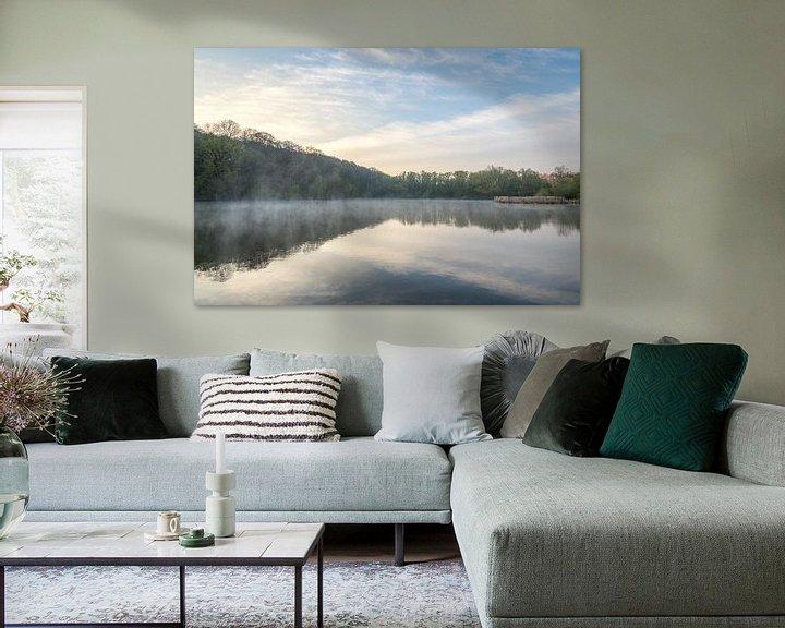 Beispiel: Sonnenaufgang in der Cranenweyer von John van de Gazelle