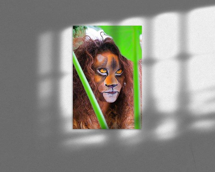 Sfeerimpressie: Leeuw in de jungle van Bobsphotography