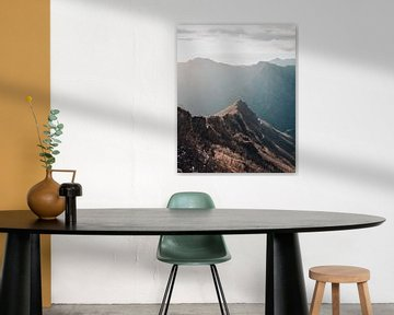 Berg lagen in Toscane van Dayenne van Peperstraten