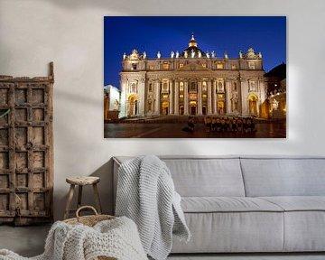 Sint Pieter, Rome van Gerard Burgstede
