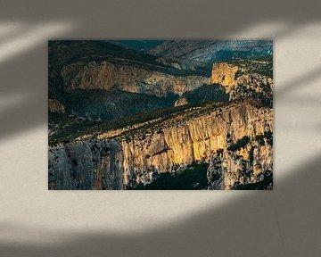 De canyon Gorges du Verdon
