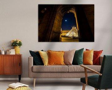 Blick durch den Louvre von Damien Franscoise