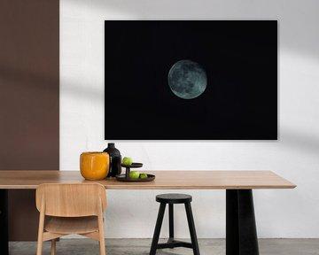 Bijna volle maan van RedRoseFotografie