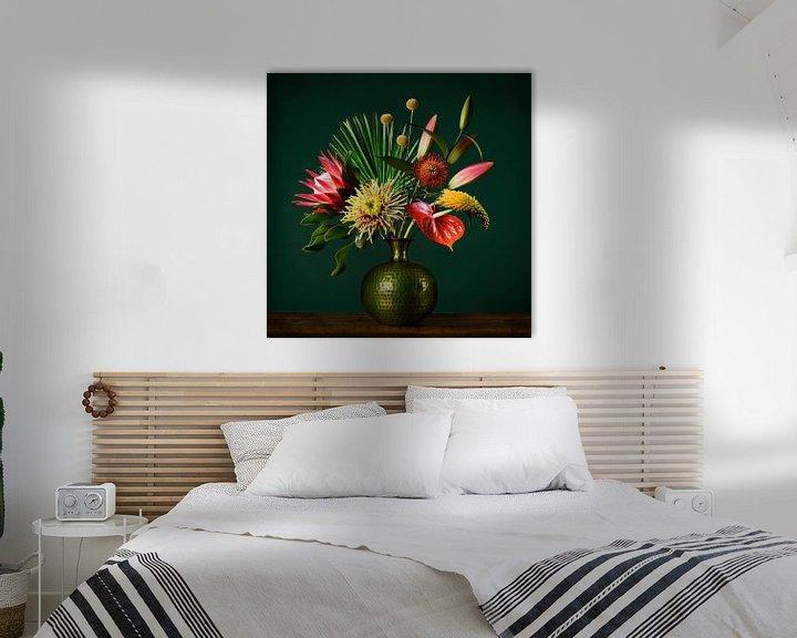 Beispiel: Blumen-Stillleben von Petri Vermunt