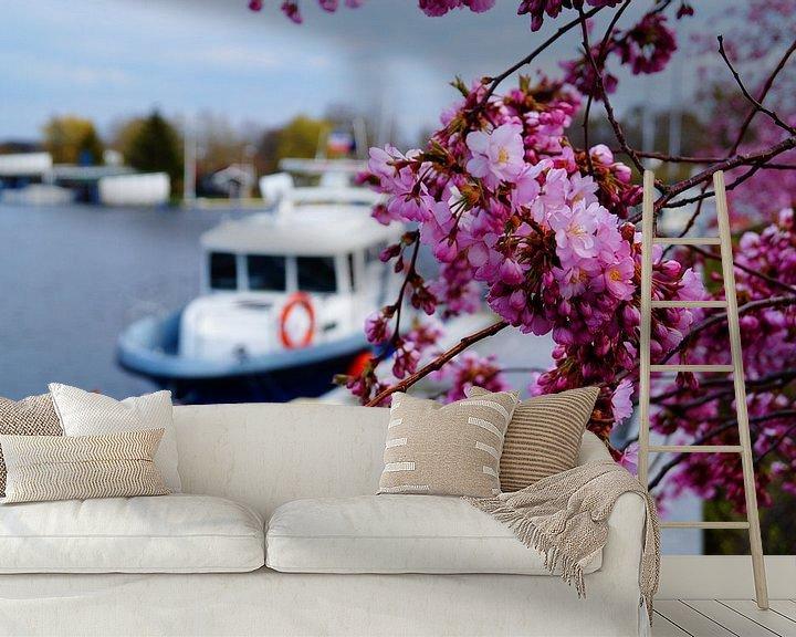 Beispiel fototapete: Kirschblüte von Bowspirit Maregraphy