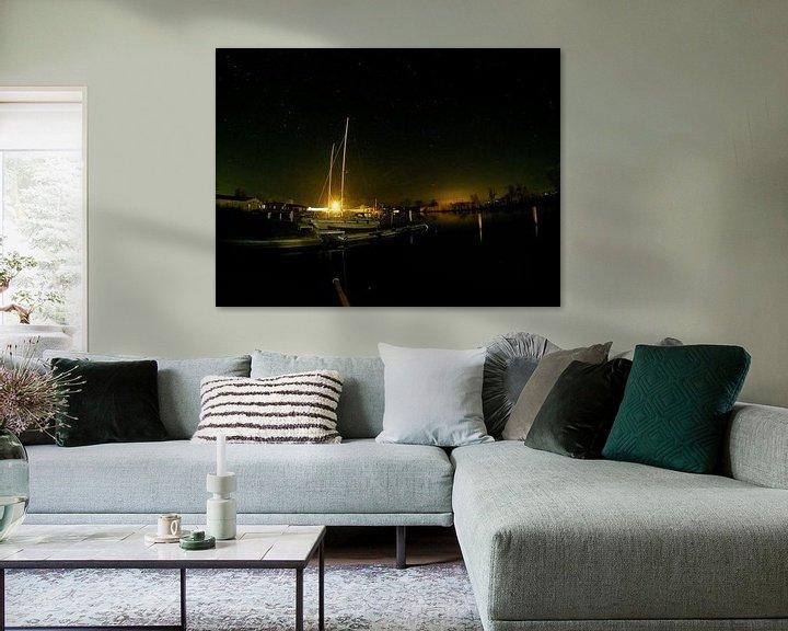 Beispiel: Im Hafen bei Nacht von Bowspirit Maregraphy