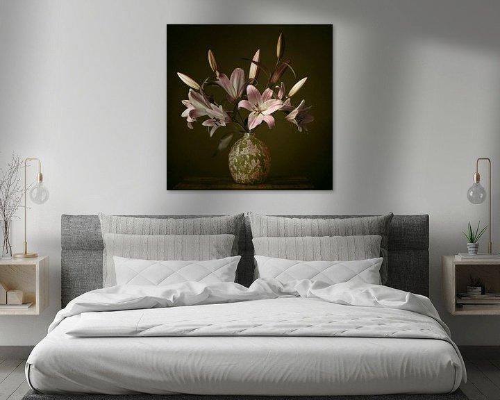 Beispiel: Stillleben mit Lilien von Petri Vermunt