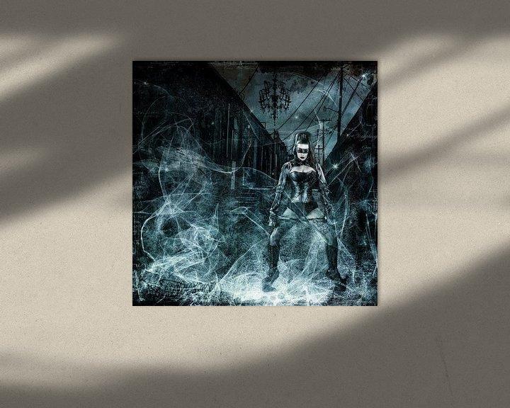 Beispiel: Lady in Black von Annette Hanl