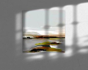 Abstraktion, Island. von SydWyn Art