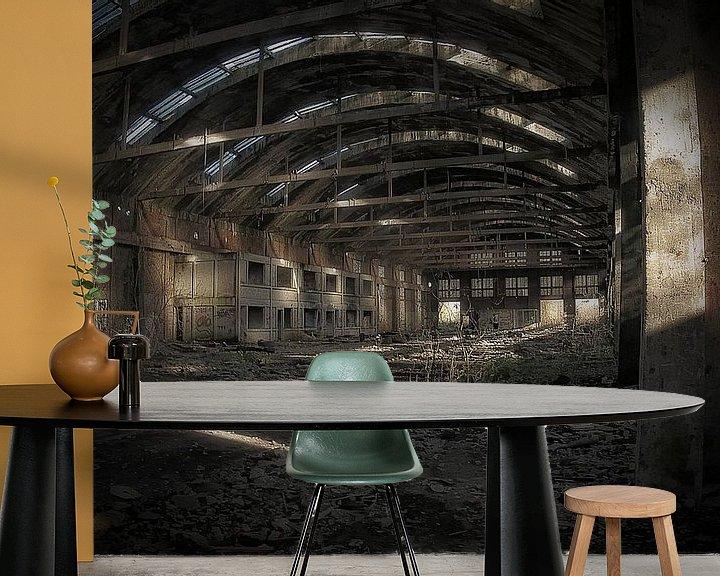 Beispiel fototapete: Hirson-Fabrik aufgegeben von Betty Heideman Fotografie