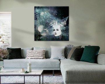Winter Fee van Annette Hanl