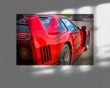 Ferrari F40 van Jeroen Smit
