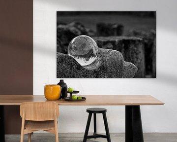 Kristallkugel im Verderben von Betty Heideman Fotografie