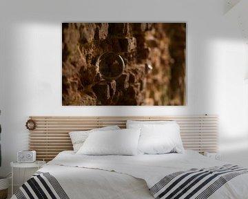 Kristallkugel in der Wand von Betty Heideman Fotografie