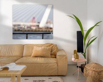 'Harbourview' Rotterdam (color) van Rick Van der Poorten