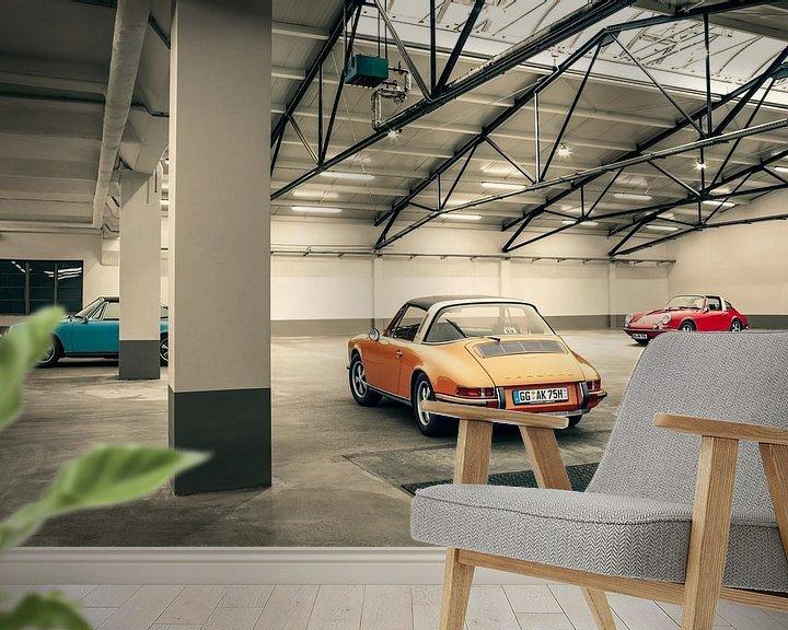 Beispiel fototapete: early Porsche von Ramon Enzo Wink