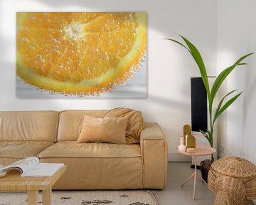 bruisende sinaasappel van Valerie de Bliek