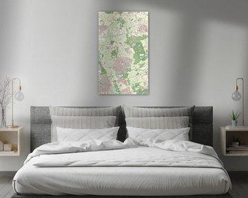 Kaart van Nuenen, Gerwen en Nederwetten