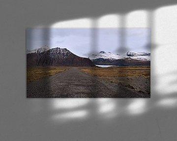 Op weg naar Svínafellsjökull van Timon Schneider