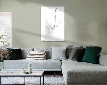 Glas Wasser Köstlich klar... von Klaartje Majoor