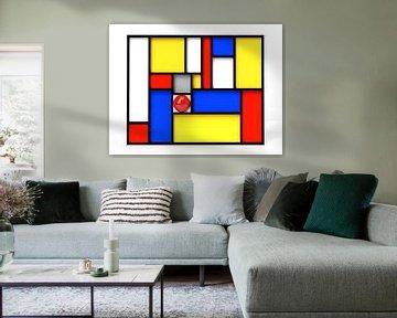 Mondrian mit einem Twist von shoott photography