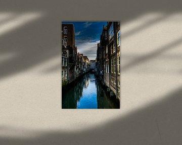 Doredrect, Street view. Canvas Afdruk van Photography by Naomi.K