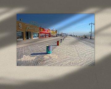 La promenade de Coney Island sur Tineke Visscher