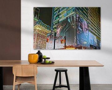 Times Square New York van Tineke Visscher