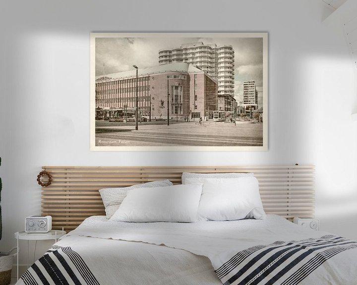 Sfeerimpressie: Oud ansicht Forum Rotterdam van Frans Blok