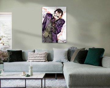 Heath Ledger van Ria van Werven