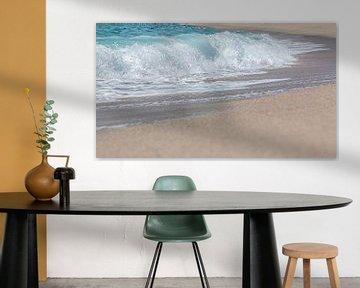 Golven op het strand van Thomas Heitz