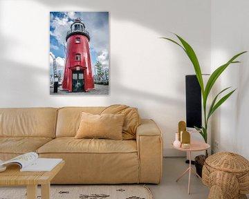 Rotterdam Alter Hafen Leuchtturm von Photography by Naomi.K