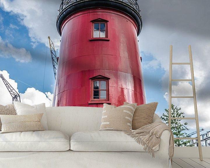 Beispiel fototapete: Rotterdam Alter Hafen Leuchtturm von Photography by Naomi.K