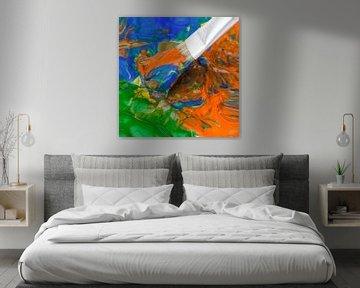 Kunst im Entstehen von Klaartje Majoor
