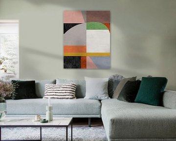 Geometrisch patroon 2 van Angel Estevez